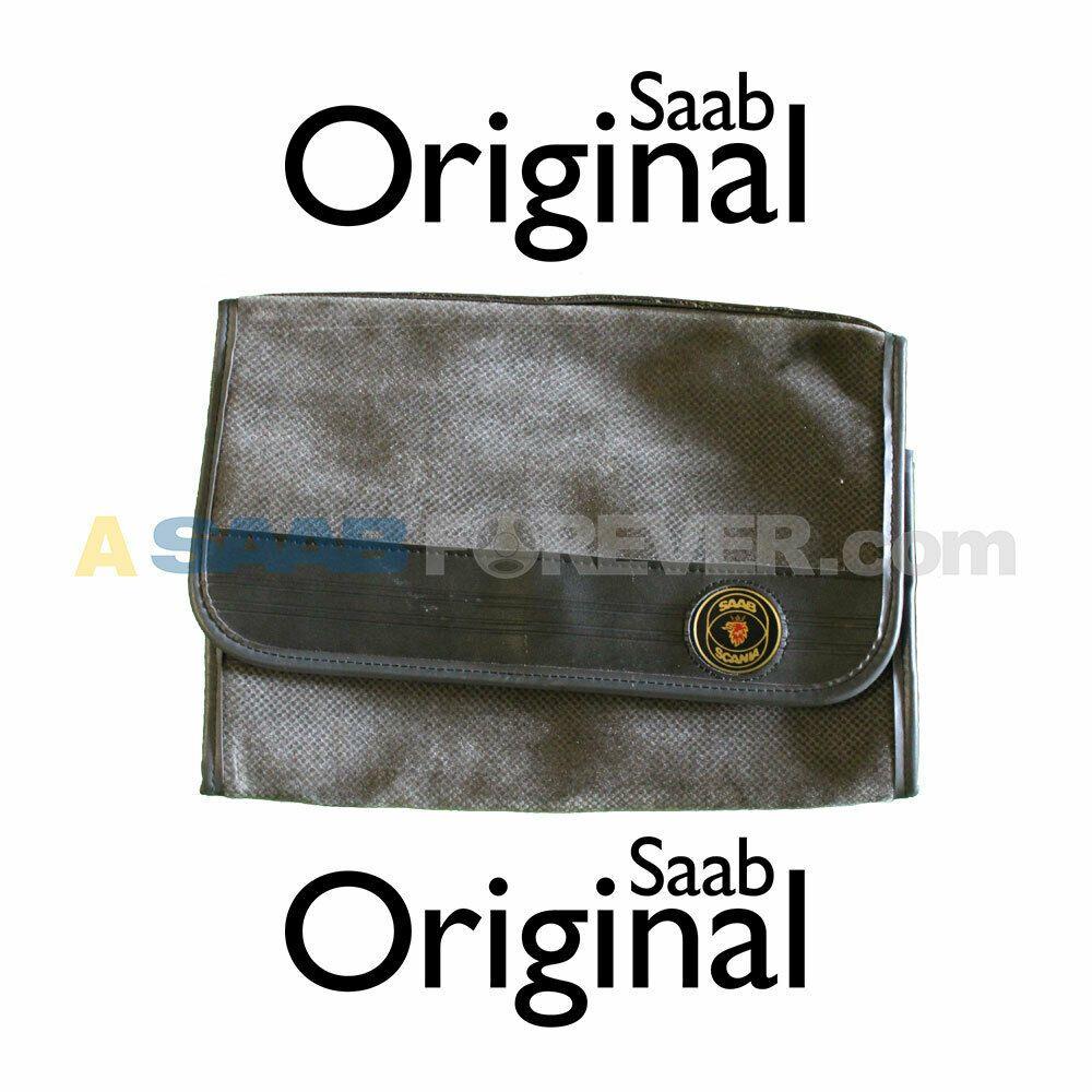 (Advertisement EBay) GENUINE SAAB OWNERS MANUAL LEATHER