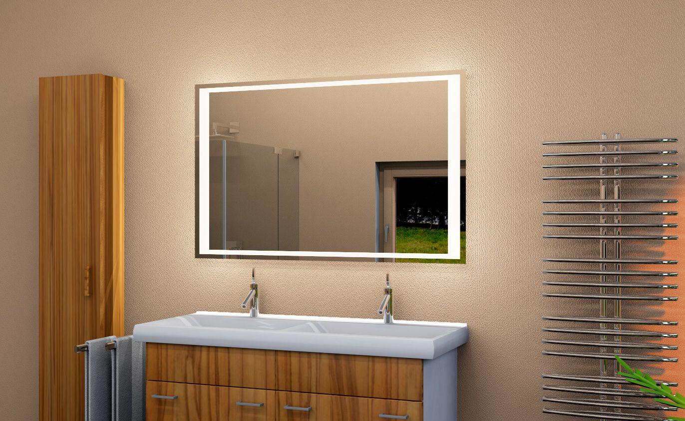 Led Badezimmerspiegel ~ Romina led badspiegel wandspiegel badspiegeldirekt