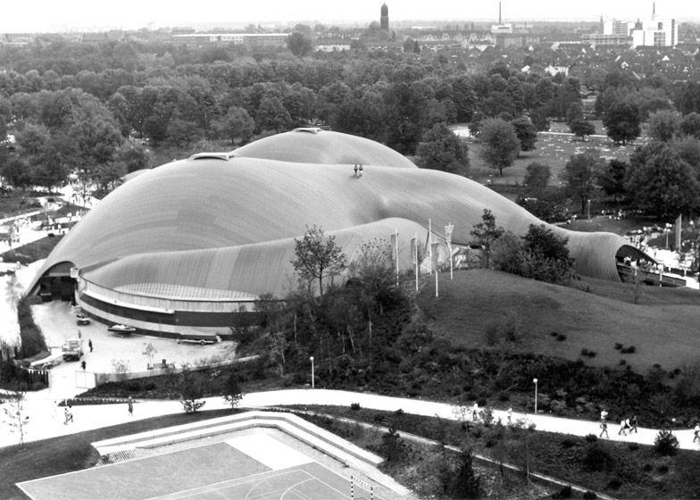 Cubierta Multihalle Mannheim Alemania Frei Otto Arquitectura Contemporanea Arquitectura Arquitectos