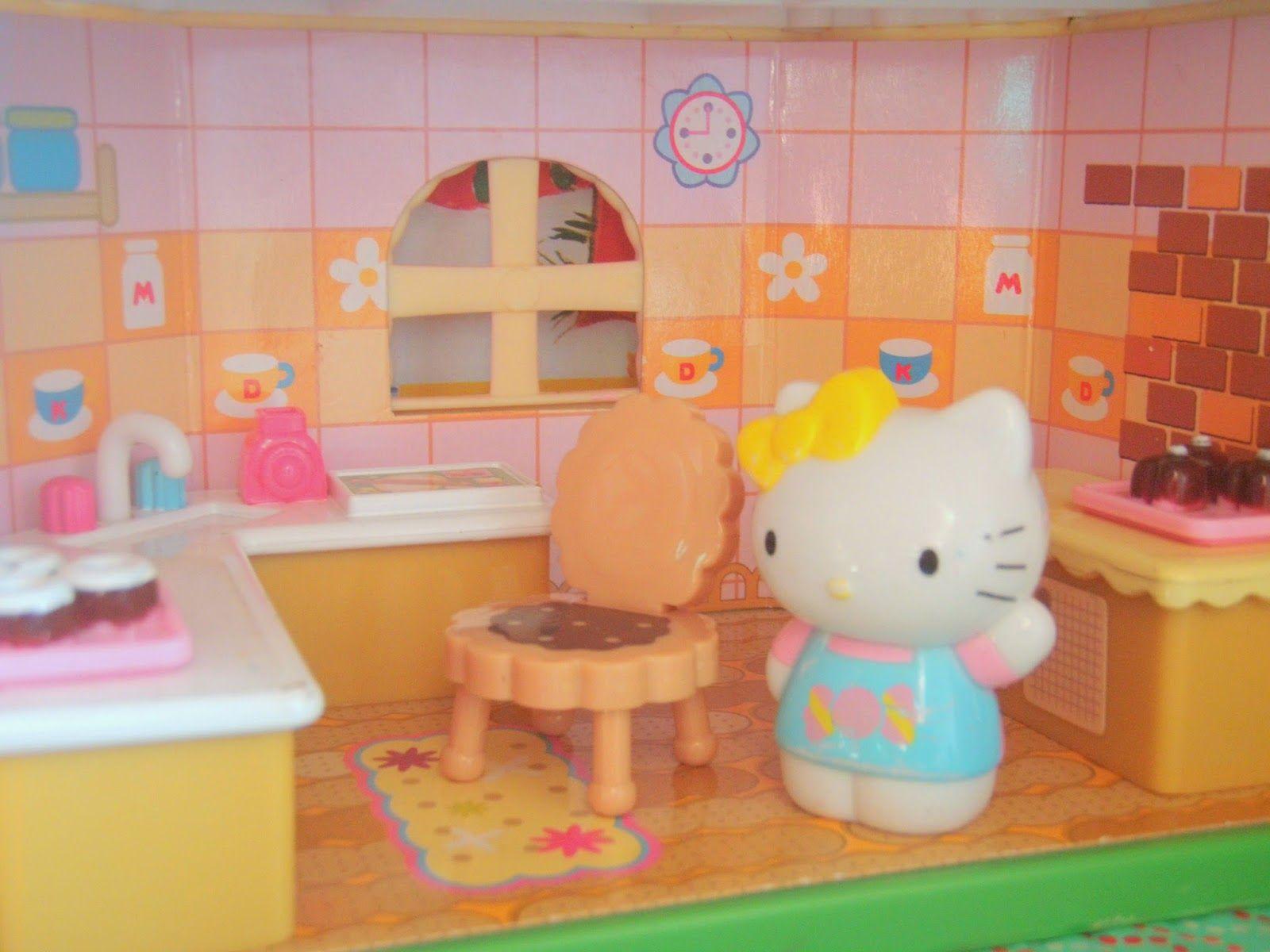 Hello kitty dining room  Hello Kitty House  Canut believe it  Pinterest  Hello kitty house