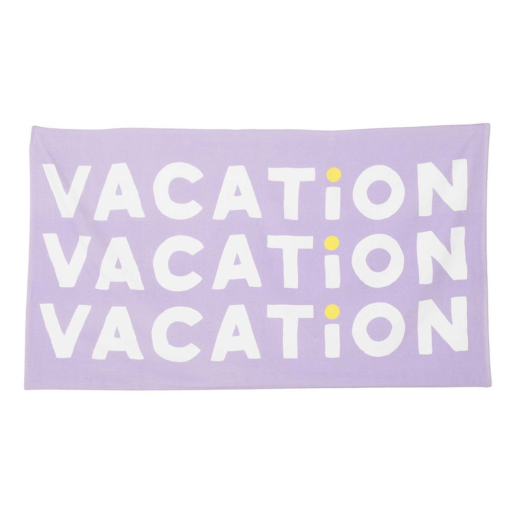 beach, please! giant beach towel - vacation #adroll #spring16
