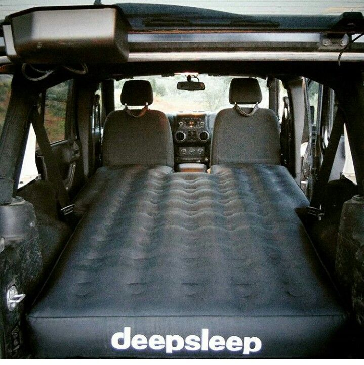 air mattress shaped for sleeping and camping in jeep. Black Bedroom Furniture Sets. Home Design Ideas