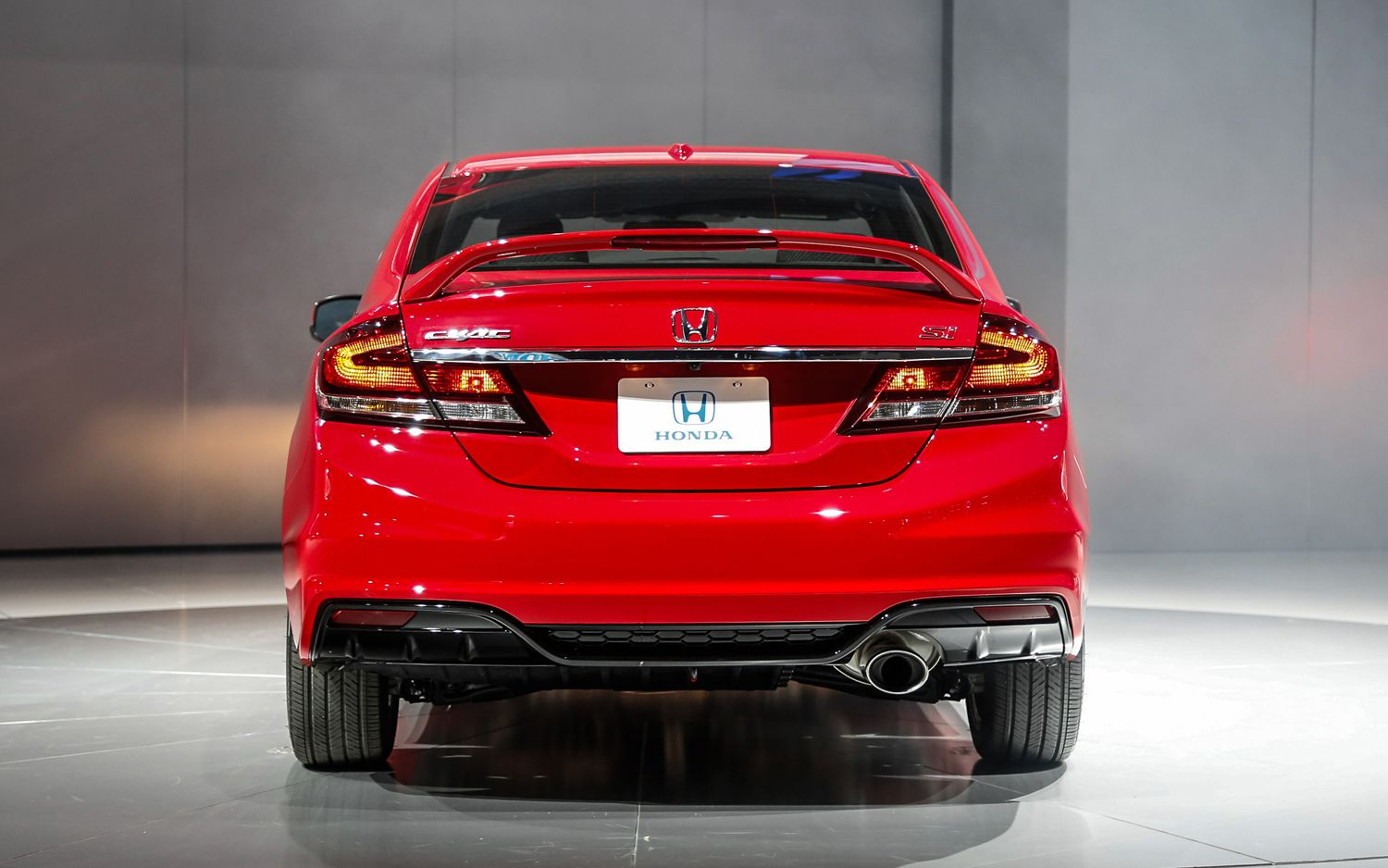 2013 Honda Civic Si Sedan Rear View
