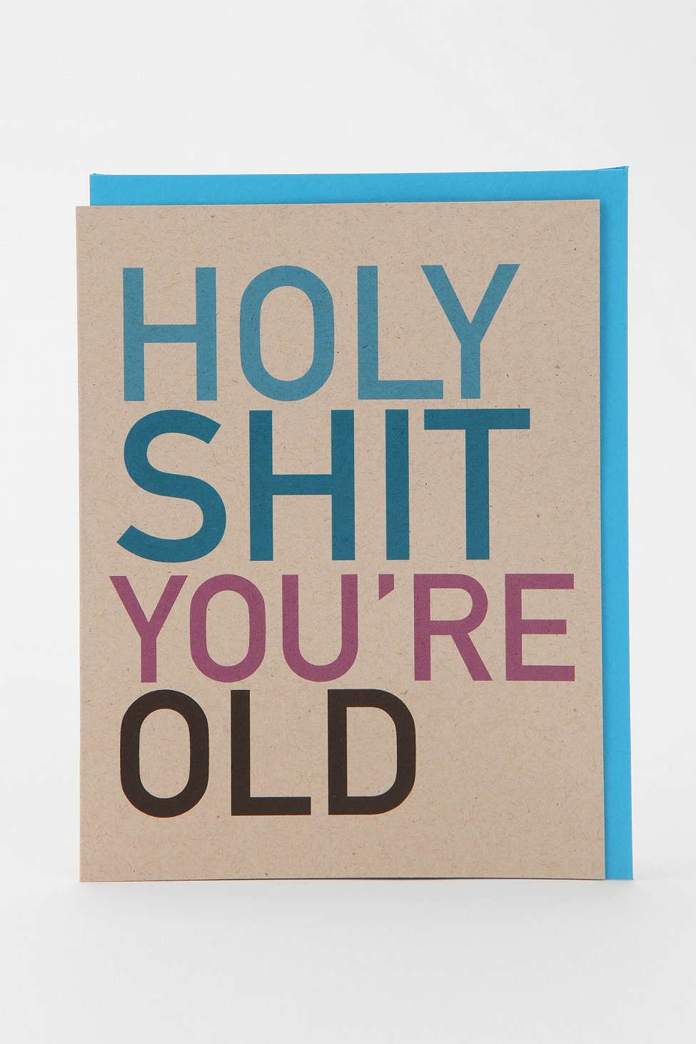you're old birthday card with images  old birthday