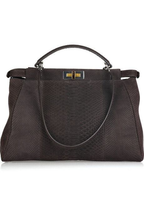 Fendi-large-Peekaboo-brushed-python-tote-1.jpg (460×690)
