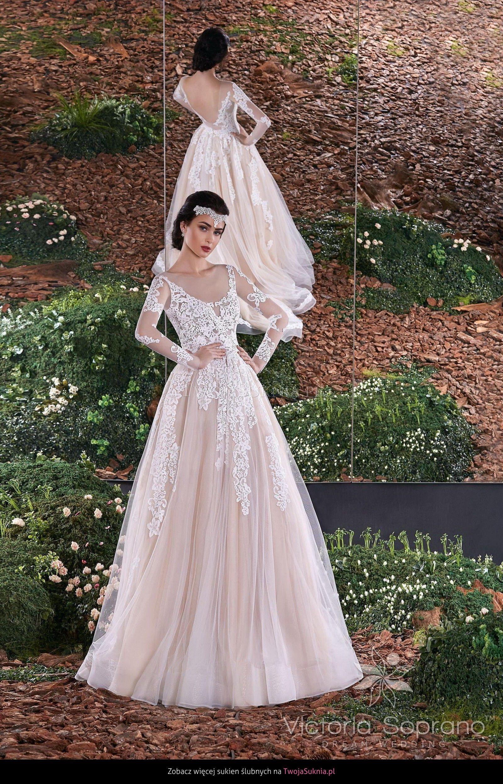Chwalebne Suknia ślubna Victoria Soprano 6617 Zara Blooming Spring AU35