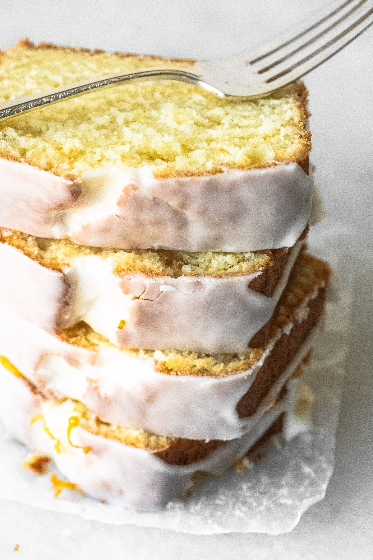 A Stack Of Buttermilk Lemon Bread Slices Buttermilk Recipes Lemon Bread Lemon Bread Recipes