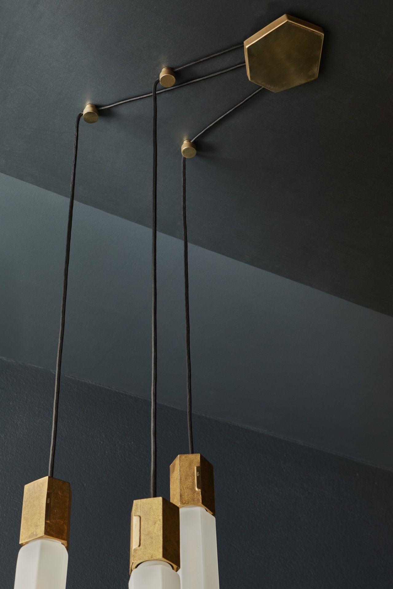 Basalt a modular lighting system by tala inspired by rock formations in ireland design milk