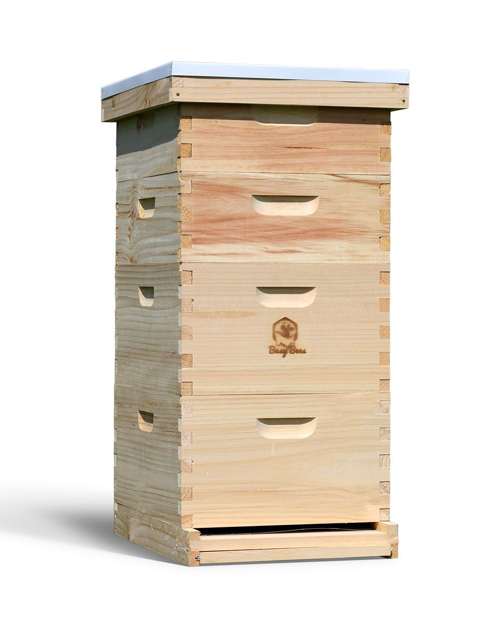 Complete Honey Production Bee Hive Kit For Beekeepers Free Shipping Bee Hive Kits Bee Keeping Beekeeping Frames