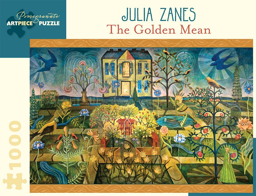The Golden Mean 1000 Pieces Pomegranate Puzzle Warehouse The Golden Mean Cool Jigsaw Puzzles Divine Proportion
