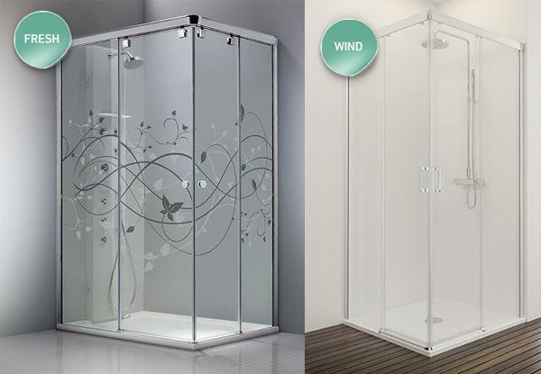 Mamparas ducha correderas a medida fresh 600 415 - Mamparas con dibujos ...