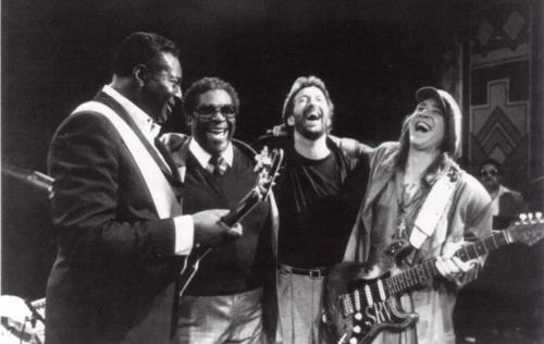 Albert King - BB King- Eric Clapton and Stevie Ray Vaughn