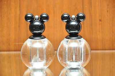 Mickey Mouse Salt Pepper Grinder Mill Set Lucite Salt & Pepper Shakers Disney #disney #mickeymouse #minniemouse #lucite #saltandpepper #peppergrinder #disneycollector #snp #sandp #shakers #salt #pepper  #kitchendecor