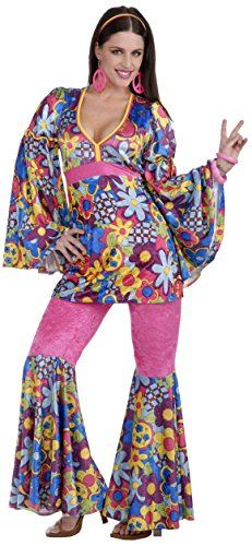 Forum Novelties Womenu0027s 60u0027s Revolution Hip Flower Child Go-Go Costume Multi Standard  sc 1 st  Pinterest & Forum Novelties Womenu0027s 60u0027s Revolution Hip Flower Child Go-Go ...