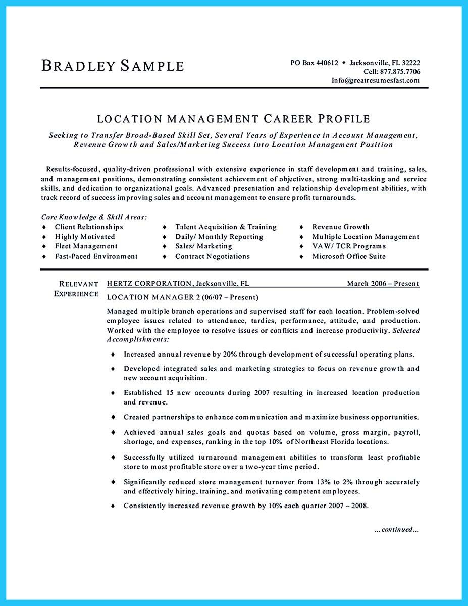 Cool Writing A Great Assistant Property Manager Resume Check More