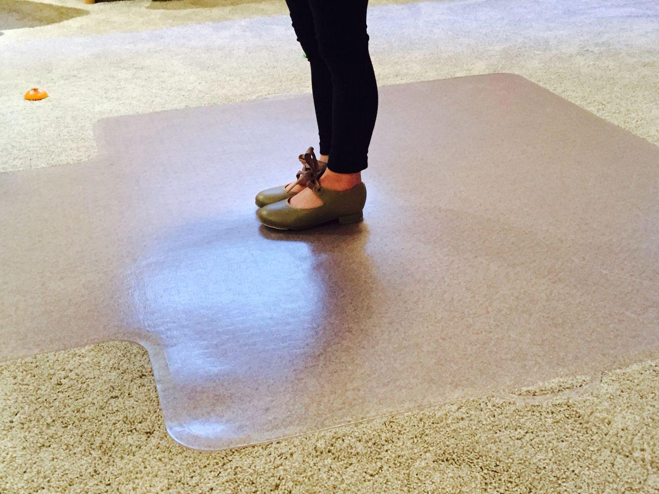 Temporary dance floor practice dance mat use an office - Temporary flooring over carpet ...