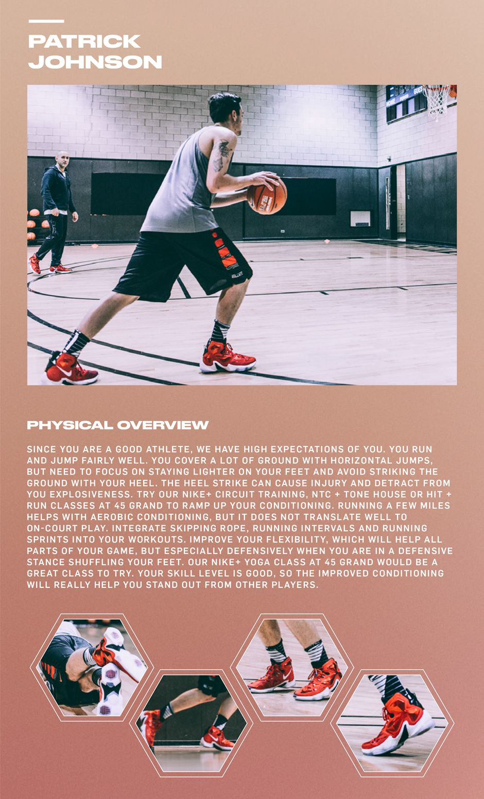 Here's Nike Basketball and Idan Ravin's critique of my workout session.