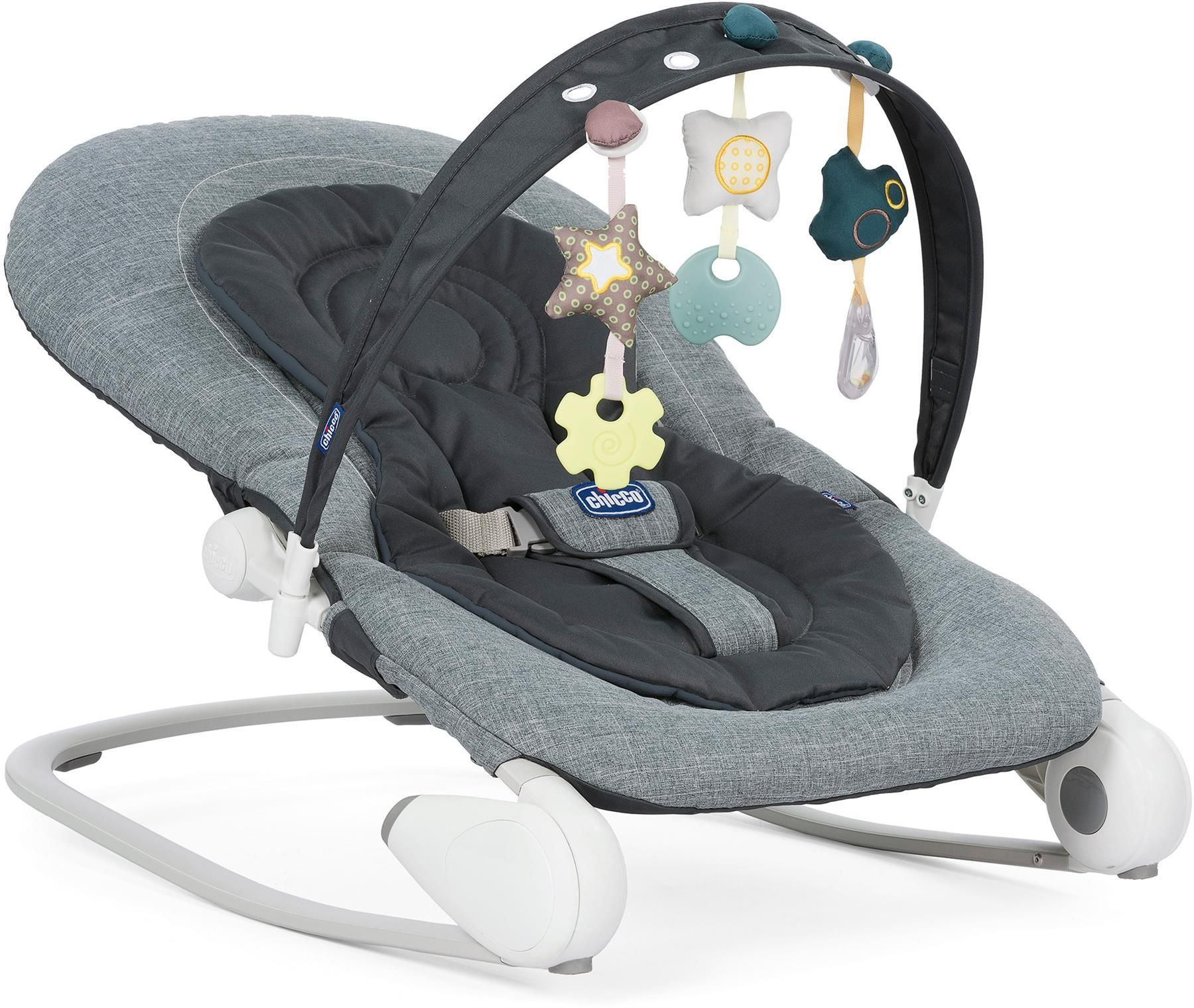 Chicco Hoopla Bouncer Dark Grey In 2020 Baby Bouncer Chicco