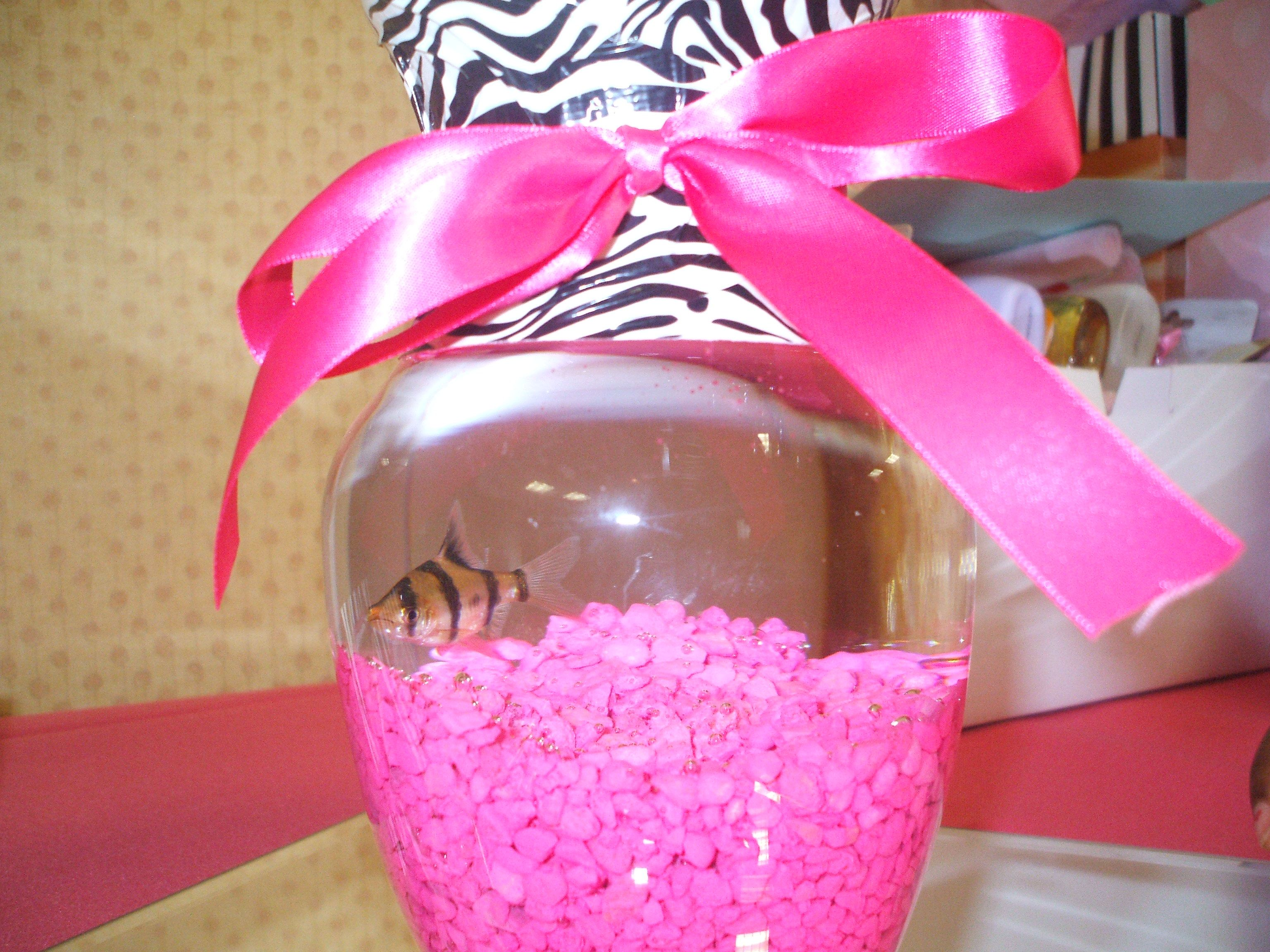 Hot pink and black zebra print themed baby shower