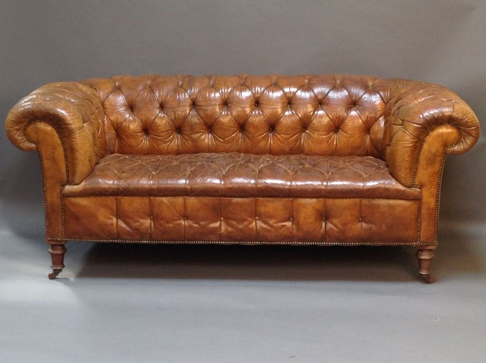 Antique Chesterfield Sofa