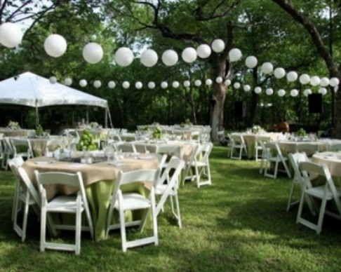 resultado de imagen para decoracion para bodas en jardin
