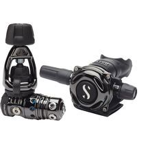 First and second stage scuba regulator / piston