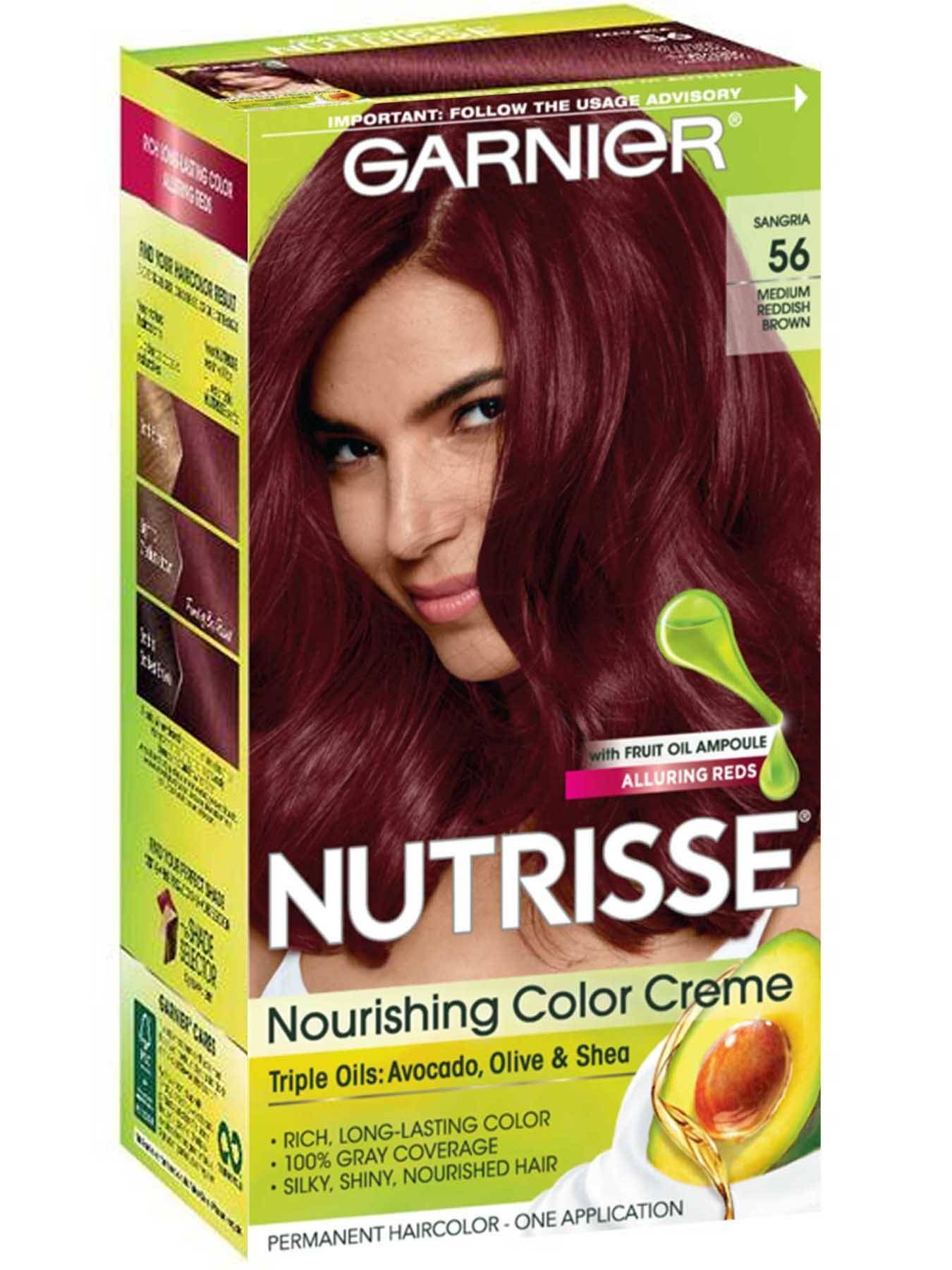 Medium Reddish Brown 56 Sangria With Images Red Brown Hair