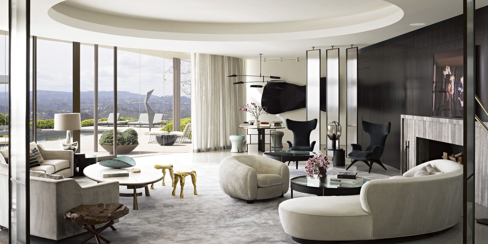 How Two Hollywood Power Players Modernized Their Midcentury La Home 1960s Style House And