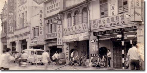 Down the old chinatown street now called petaling street for Classic house kuala lumpur