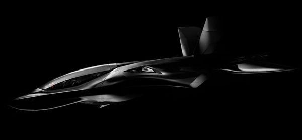 FH-01X aircraft concept by Thiago Henrique Mazzini