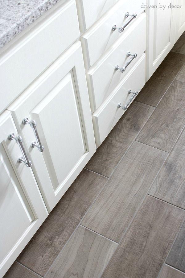 Porcelain Tile Floor That Looks Like Wood Source Linked In Post Bathrooms Remodel Kitchen Floor Tile Flooring