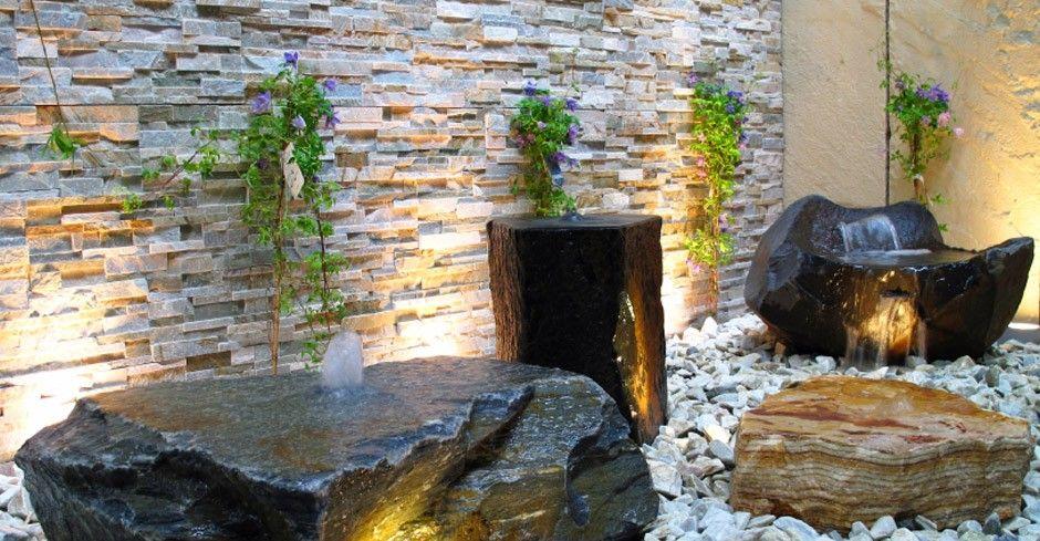 Yellow Quartzite Split Face Mosaic Tiles Exterior Stone Wall