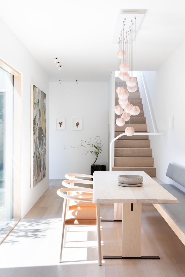 Schmales Esszimmer Einrichten 11 Skylights Brighten A Compact Narrow Home In Vancouver In 2019