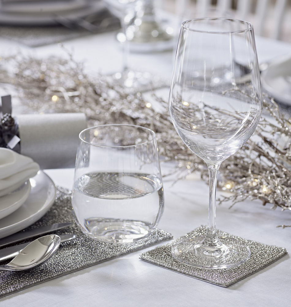The White Company Belmond Tumbler Set Of 4 Christmas Table Decorations The White Company