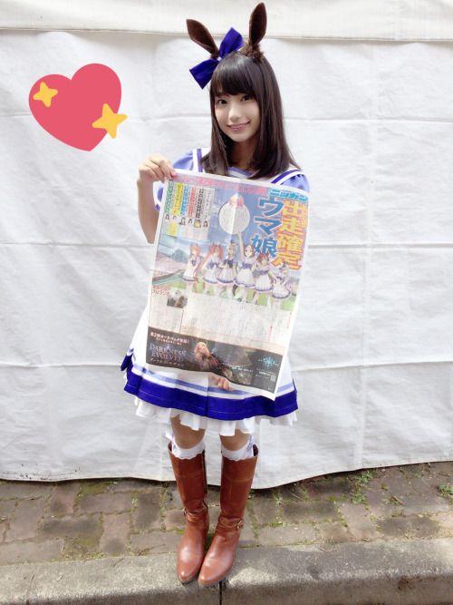 高野麻里佳さんのポートレート