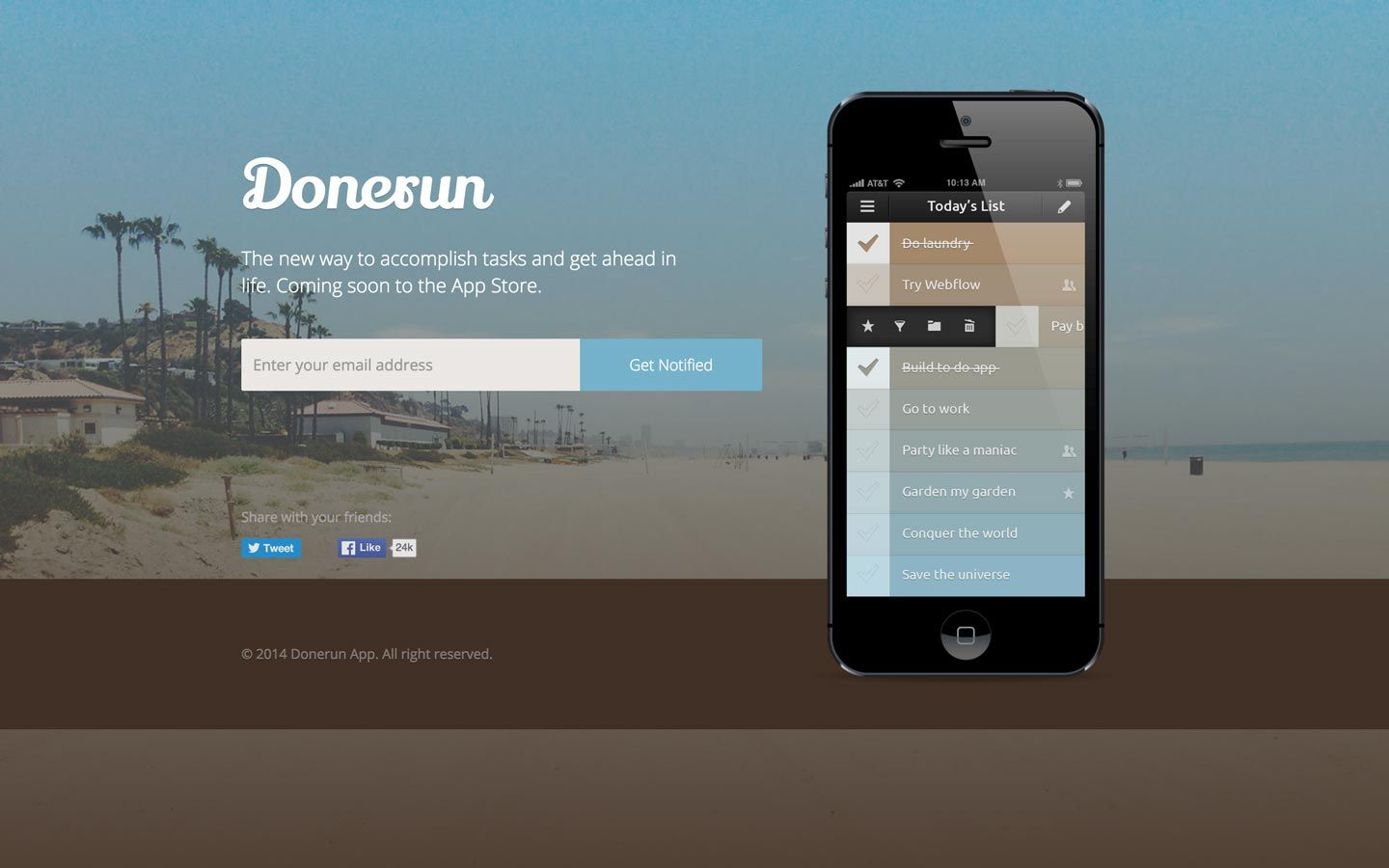 Donerun Mobile Website Template Meteorsites WebsitesLaunch Your - Launch page template