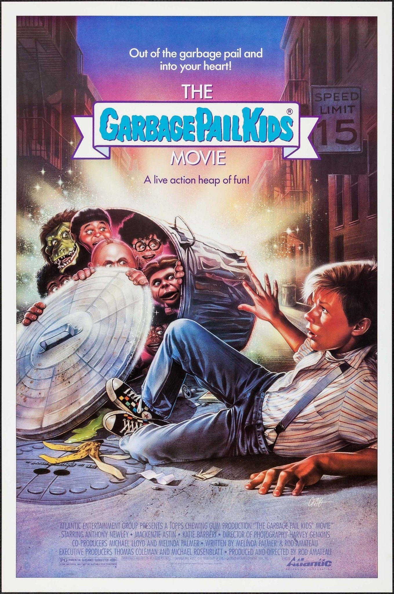 The Garbage Pail Kids Movie 1987 Garbage Pail Kids Kid Movies Creepy Kids