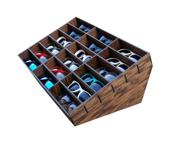 18ct Sunglasses Display Case Storage Holder By MastersOfFate | Por La Casa  | Pinterest | Display Case, Storage Ideas And Display