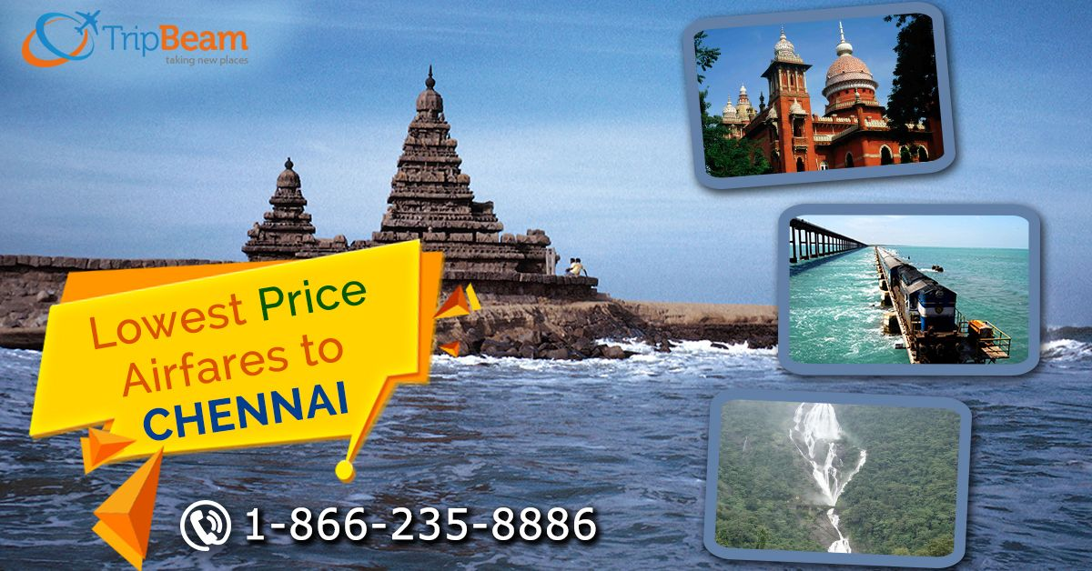 Cheap Airline Tickets from USA to Chennai Travel deal