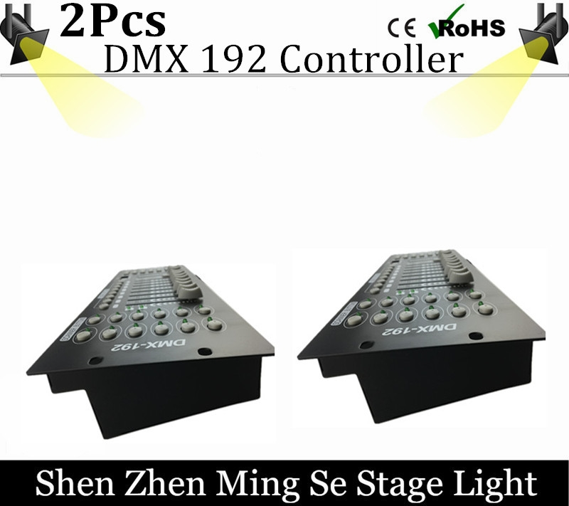 94.00$  Buy here - http://alin6s.worldwells.pw/go.php?t=32759738565 - 2pcs/lots  International standard DMX 192 controller controller moving head beam light console DJ 512 dmx controller equipment 94.00$