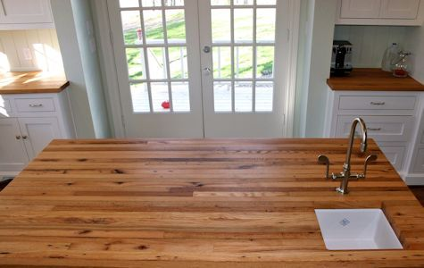 Custom Wood Countertop Options Finishes Wood Countertops White Oak Wood Rustic Countertops