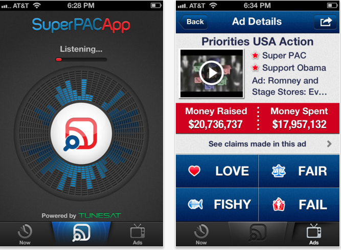 Super PAC App Tells You When Campaign Ads Are Lying