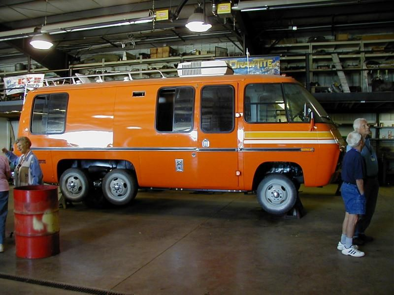 This Is A 23 One I Would Love To Have One Of These As It Just Looks Classic 70s Gmc Motorhome Classic Gmc Gmc