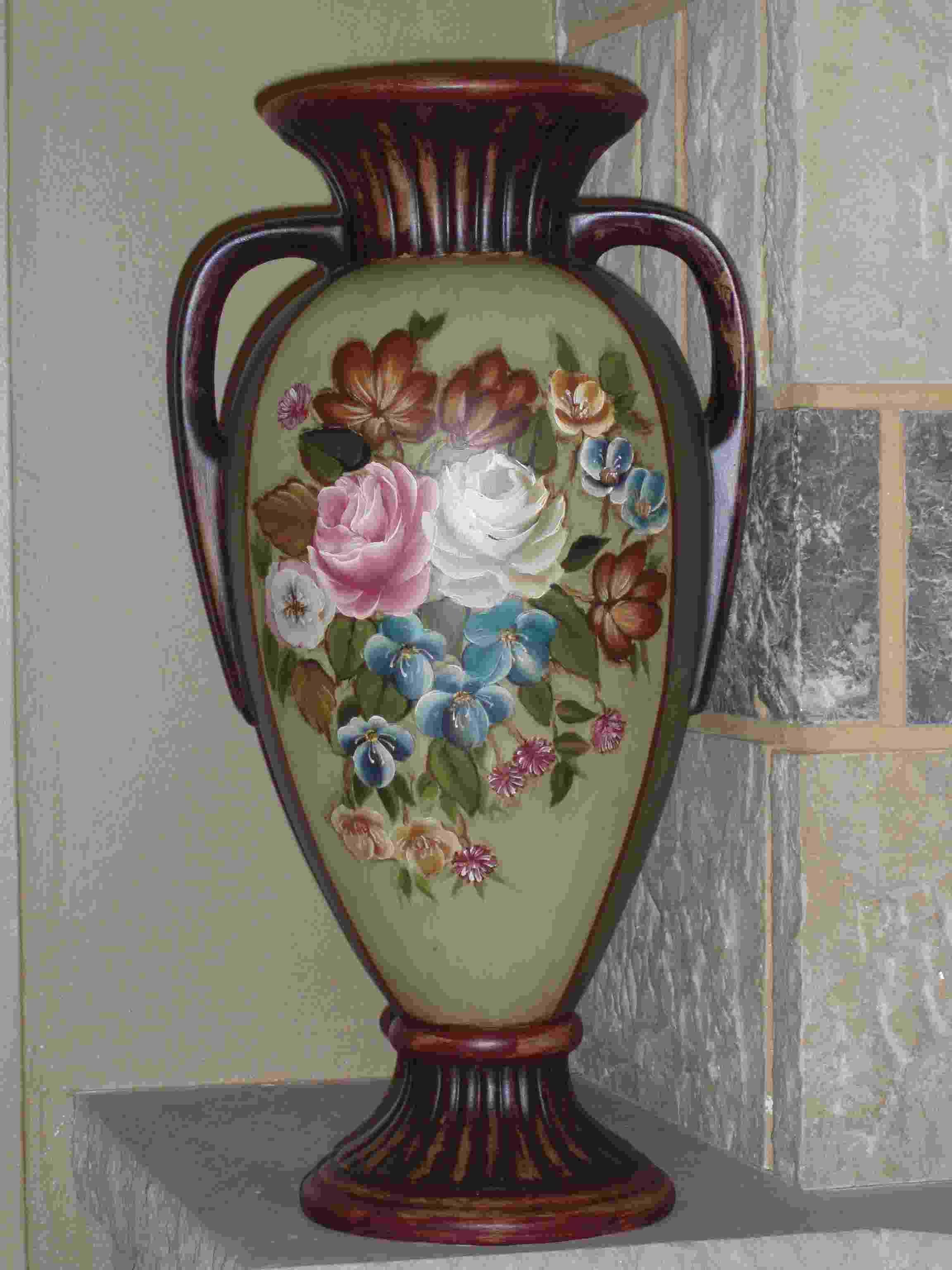 Seramik Vazo Boyama Googleda Ara Boyama Vase Ve Home Decor