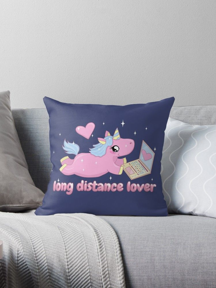 Buy  Long distance loverCute Unicorn  by ValentinaHramov as a Graphic  T-Shirt 7c808d8084