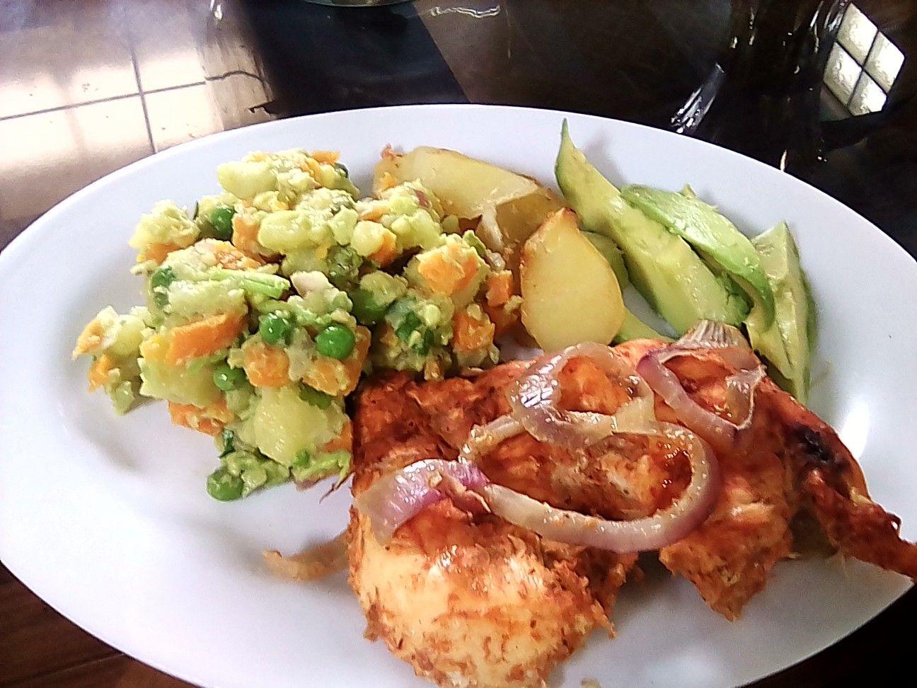 Pechuga De Pollo Al Horno Food Chicken Meat
