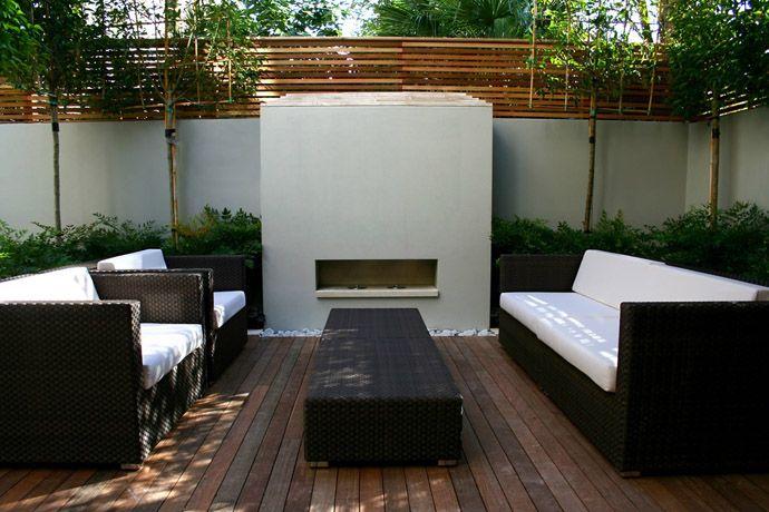 Resultado de imagen para como arreglar patios peque os decoracion pinterest patios - Decoracion patios pequenos modernos ...