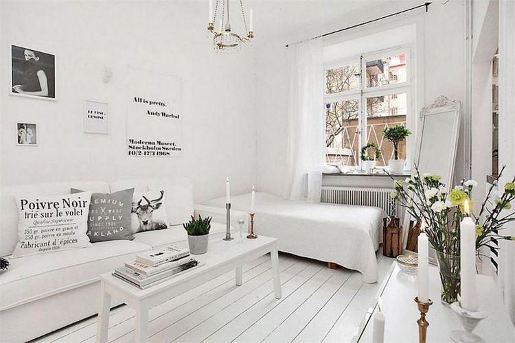 Pieni valkoinen asunto