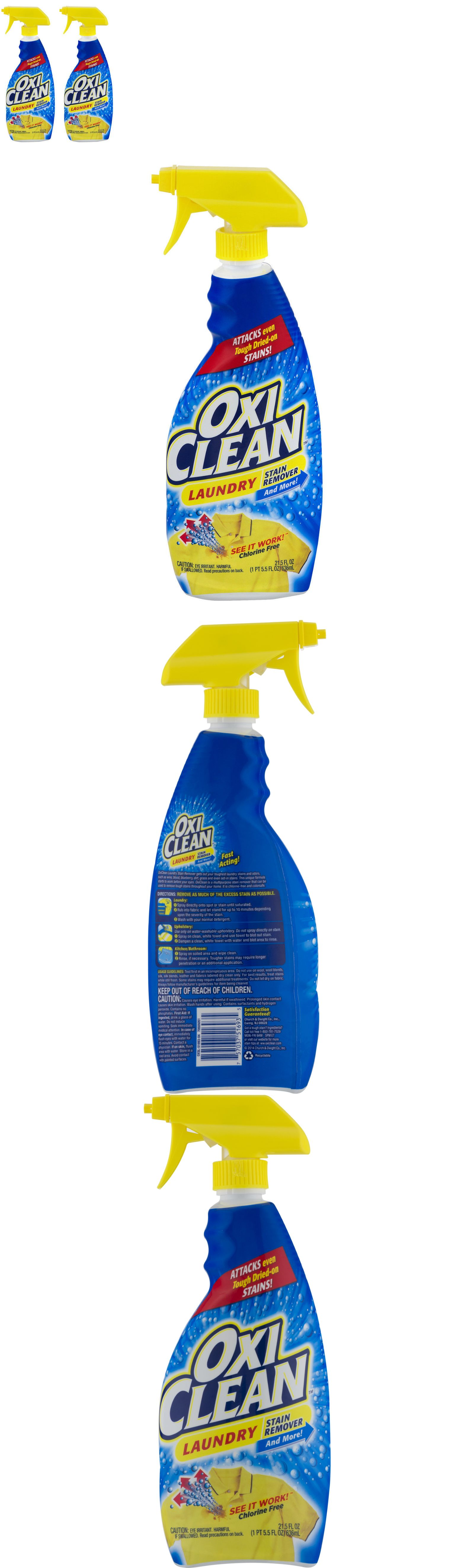Bleaches And Stain Removers 172208 2 Pack Oxiclean Laundry Stain