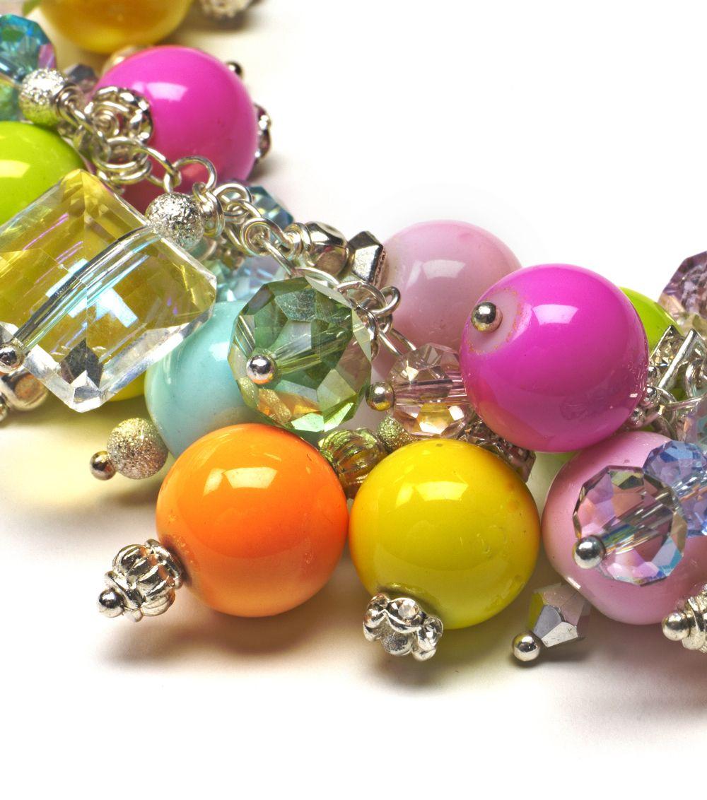 Bubble necklace, Linda Anderson.